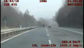 Pędził z prędkością 201 km/h