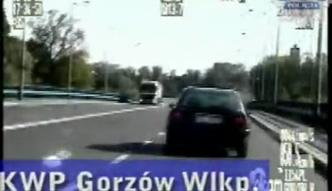 Gorzów Wlkp. Szalony motocyklista
