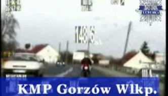 Gorzów Wlkp.: 148 km/h w obszarze zabudowanym
