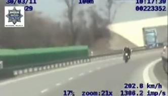 Wrocław: Jechał nawet 235 km/h