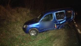 Lubuskie: Zderzenie czterech samochodów