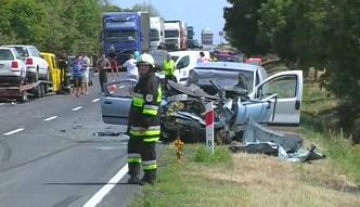 Śmiertelny wypadek na drodze do Opola