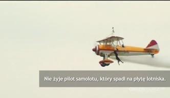 Tragiczna śmierć pilota i akrobatki