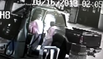 Podpalił żonę na stacji benzynowej