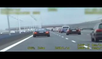 238 km/h w mercedesie na S8