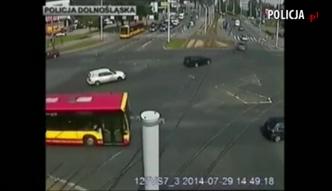 Pijany kierowca potrącił kobietę i uciekł
