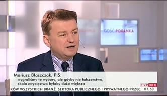 Mariusz Błaszczak o prawie wyborczym