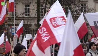 Tysiące ludzi przeszło w marszu PiS