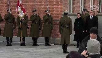 Ewa Kopacz na spotkaniu z weteranami
