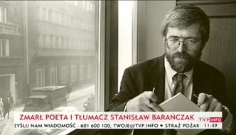 Nie żyje Stanisław Barańczak
