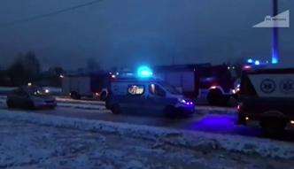 Groźny wypadek w Warszawie