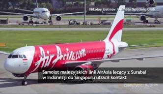 Utracono kontakt z samolotem linii AirAsia