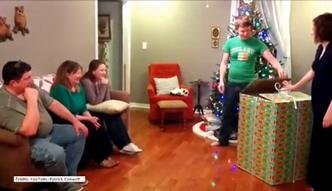 Żołnierz wyskoczył z pudełka. Doskonała niespodzianka