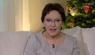 Ewa Kopacz przyznała się do słabości