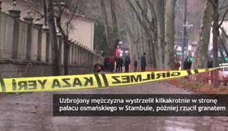 Atak przed siedzibą prezydenta Turcji