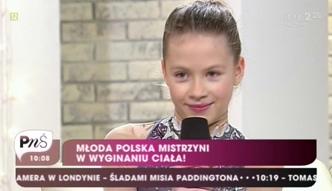 9-letnia Polka ma ciało jak z gumy
