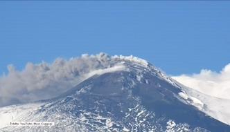 Największy wulkan Europy znów przemówił