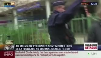 Hollande: ten atak to zamach terrorystyczny
