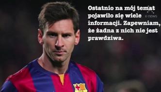 Messi: nie chciałem zwolnić Luisa Enrique!