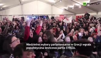 Wybory w Grecji wygrywa lewicowa SYRIZA