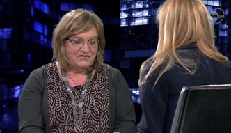 Anna Grodzka na wizji podarła tygodnik