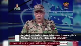 Islamiści zabili jordańskiego pilota
