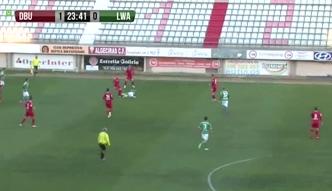 Skrót meczu Legia - Dinamo