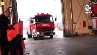 Wesołowski i Zakościelny jako strażacy