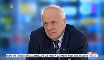 Stefan Niesiołowski nazwał lidera rolników agentem Putina