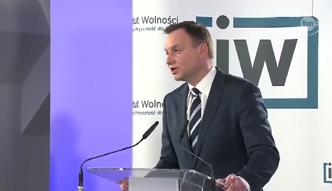 Andrzej Duda chce więcej sił NATO w Polsce