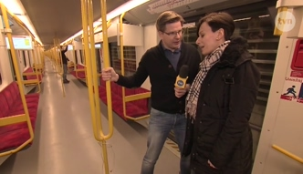Chajzer testuje nową linię metra!