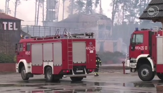 Pożar hotelu pełnego gości w Lubuskiem