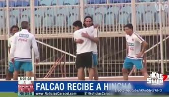 #dziejesiewsporcie: piękny gest Falcao