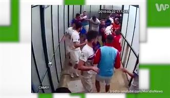 #dziejesiewsporcie: bójka piłkarzy w przerwie meczu