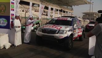 Abu Dhabi Desert Challenge: prolog na torze F1
