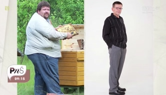 Pan Andrzej schudł aż 130 kg!
