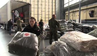 Polska pomoc humanitarna leci do Nepalu