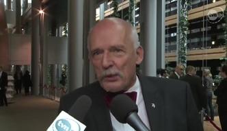 Korwin-Mikke stracił immunitet za spoliczkowanie Boniego