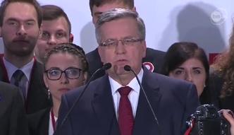 Komorowski: nie udało się tym razem