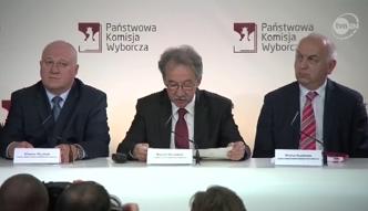 PKW podała oficjalne wyniki wyborów