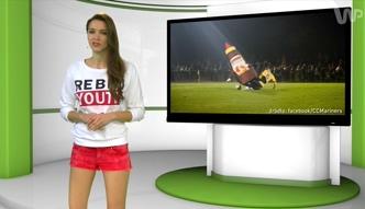#dziejesiewsporcie: piłkarz sfaulował maskotkę i zobaczył czerwoną kartkę
