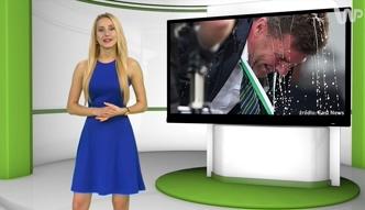#dziejesiewsporcie: trener Wolfsburga oblany piwem