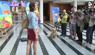"""Anna Popek... z psem w """"Pytaniu na śniadanie""""!"""