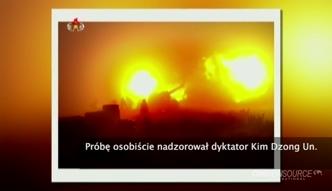 Kim Dzong Un nadzorował testy rakiet