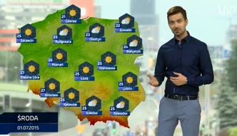 Prognoza pogody na 1, 2 i 3 lipca