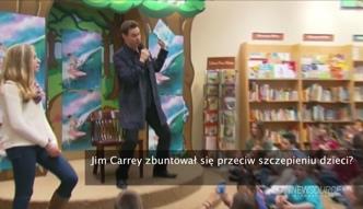 Jim Carrey nazwał gubernatora Kalifornii