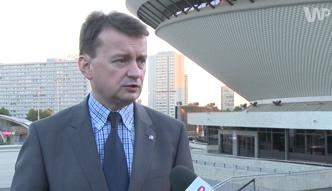 Mariusz Błaszczak na konwencji programowej PiS w Katowicach