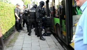 Nożownik zaatakował przechodnia w Poznaniu