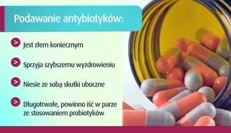 Na co uważać, zażywając antybiotyki?