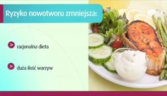 Racjonalne żywienie w profilaktyce raka żołądka